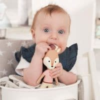 VaniMeli Natural Rubber Deer Teether Toy